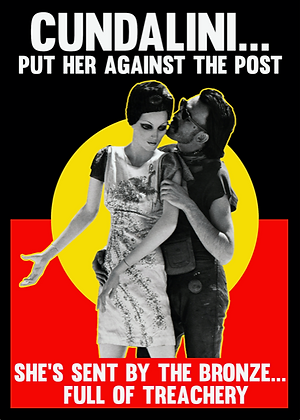 BIG A3-size 'Put Her Against The Post' Poster 297mm x 420mm (signed)