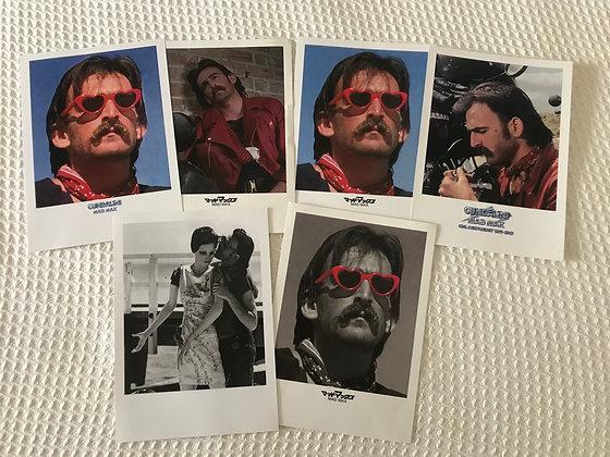 FIVE Autographed 10 x 8 Prints