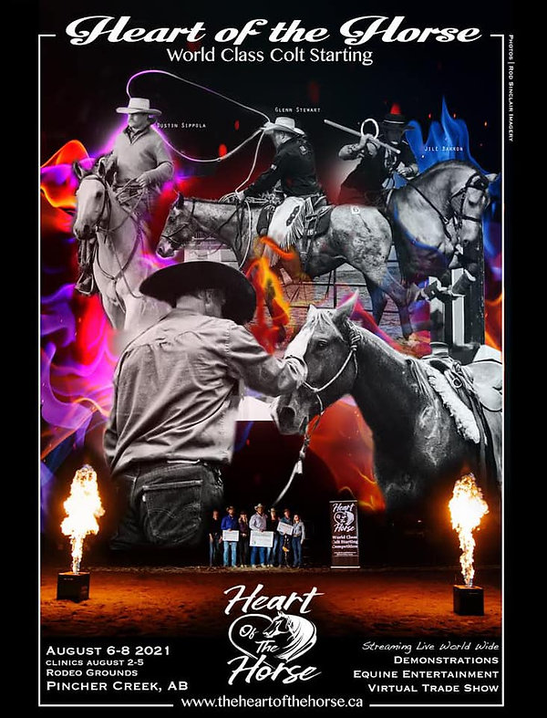2021 Heart of the Horse event - World Class Colt Starting - Aug 6-8, Pincher Creek, AB