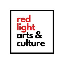 red light, arts & culture logo