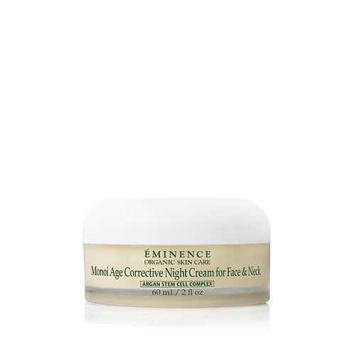 Monoi Age Corrective Night Cream for Face & Neck 60 mm