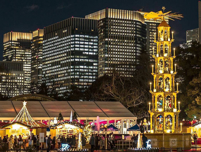 東京クリスマスマーケット今年は12月15日から