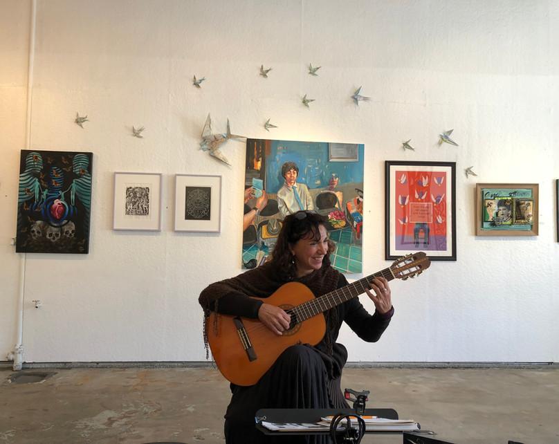 Classical Guitar Workshop -Kathy
