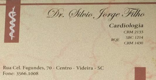 SILVIO JORGE FILHO