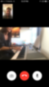 Tosheff Piano Studio Skype lesson