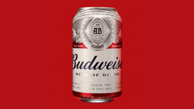 Budweiser muda de logo e embalagem em nova fase
