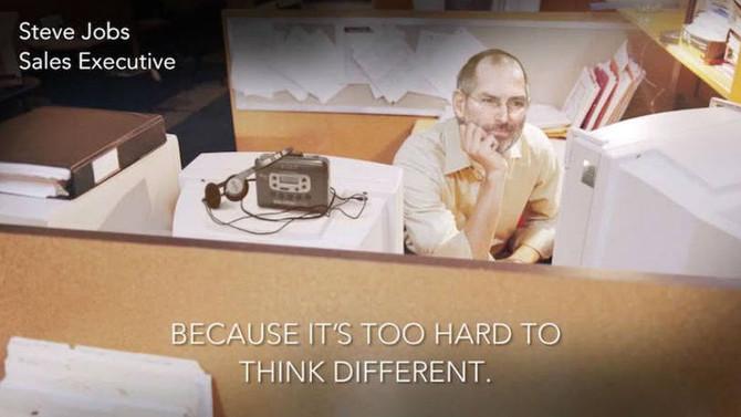 Campanha imagina pessoas de sucesso em 'vidas comuns'