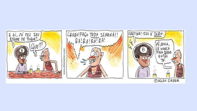 Cartunistas se unem em campanha contra o câncer