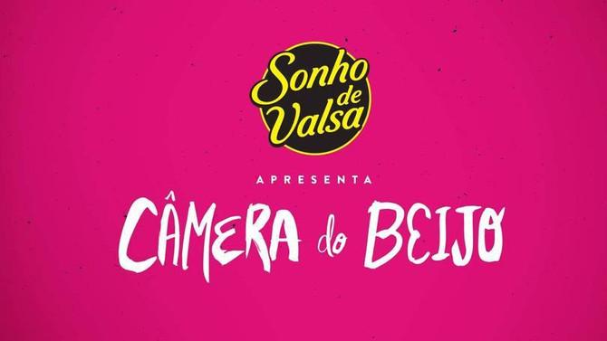 Sonho de Valsa ativa Câmera do Beijo nos estádios do Brasil