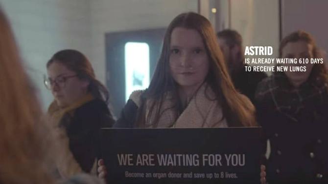 Campanha de doação de órgãos vai até fila de loja da Apple