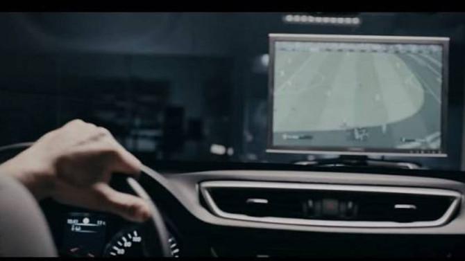 Nissan transforma carro em controle de videogame