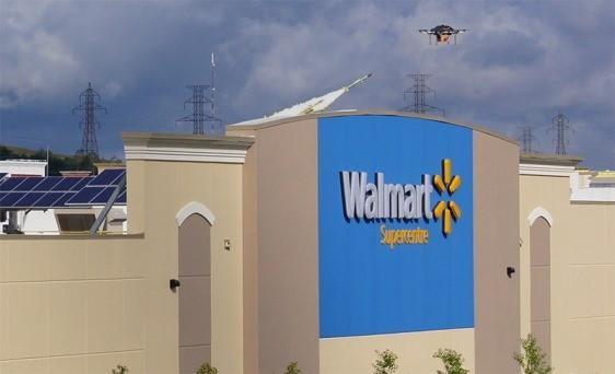 Walmart aguarda autorização para utilizar drones