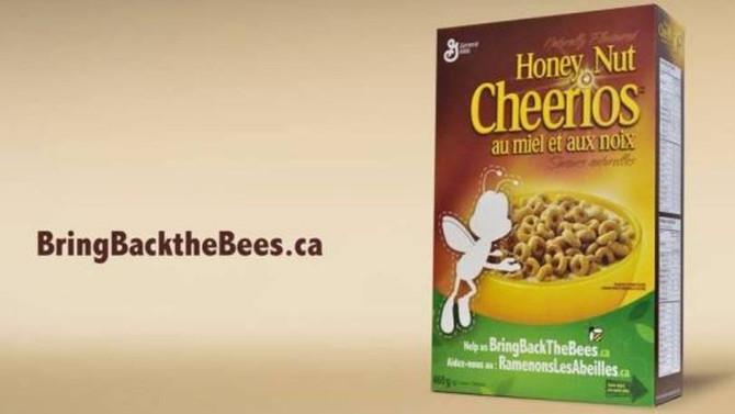 Extinção de abelhas chega a embalagens de cereais