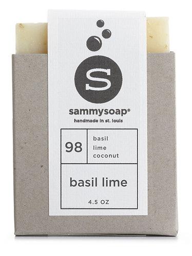 Basil Lime-Sammysoap