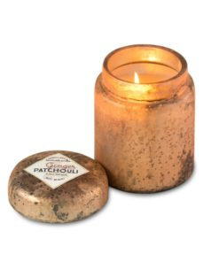 Sunlight in the Forest Mountain Fire Pot candle