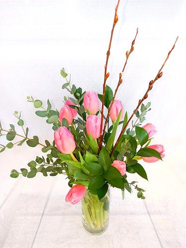 Spring Tulip arrangement