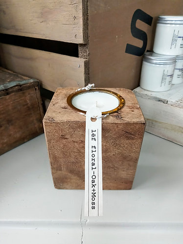 Oak Moss Sugar Mold candle