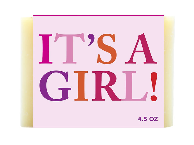 It's a Girl! All Natural Calendula soap-Sammysoap