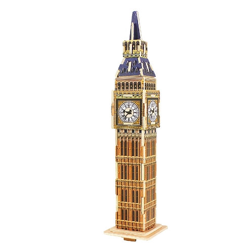 Big Ben 3D wooden architectural puzzle