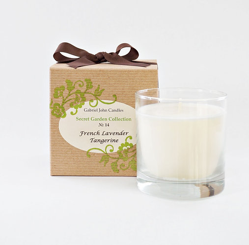 French Lavender Tangerine Candle