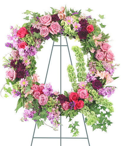 Ever Enchanting standing wreath