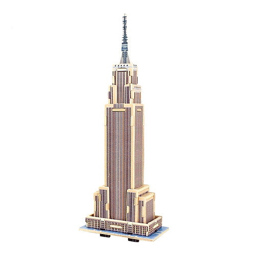 Empire State Building 3D wooden architectural puzzle