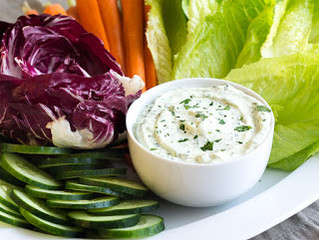 Herb Dip with Cream Cheese