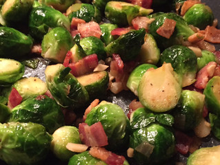 This Week's Recipes: Tuna & grapefruit, black beans, sprouts & bacon