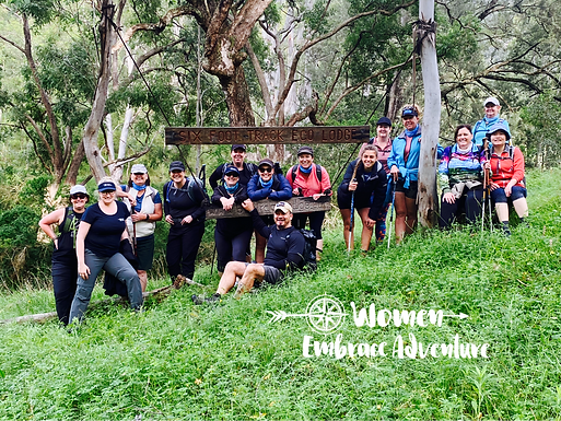 Women Embrace the Six Foot Track Weekend Hiking Adventure