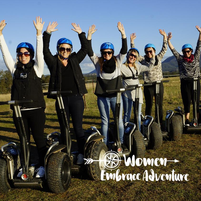Women Embrace Segway Tour & Lunch Hunter Valley