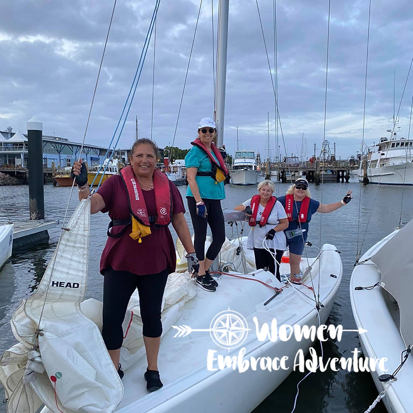 Women Embrace Sailing Discovery Day & Lunch