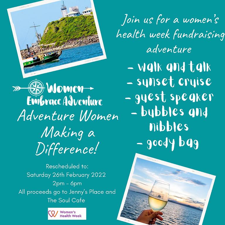 Women Embrace Adventure Womens Health Week Fundraising Adventure