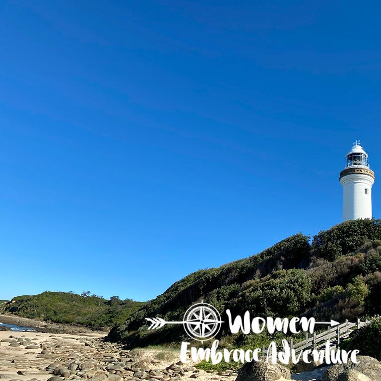 Women Embrace Walking and Whale Watching - Norah Head NSW