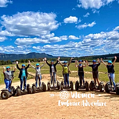 Women Embrace Segway Tour & Lunch Hunter Valley