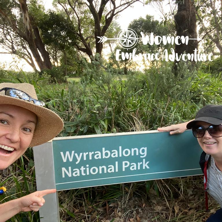 Women Embrace Coastal Walking -New Location Awaba Bay Lake Macquarie