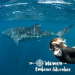 Women Embrace Ningaloo Reef - Whale Shark Swimming, Kayaking, Snorkelling and Hiking Adventure
