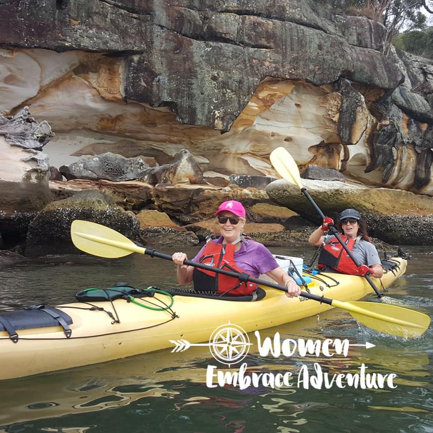 Women Embrace Kayaking - Full Day Patonga Creek Paddle