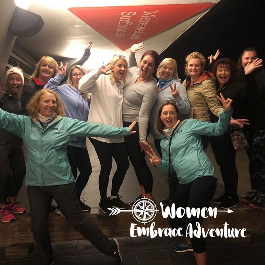 Walk and Whales Newcastle Women Embrace Adventure