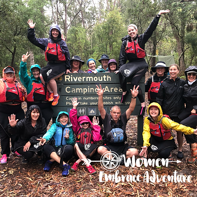 Embrace Kayaking and Camping-Myall Lakes Paddle Weekend