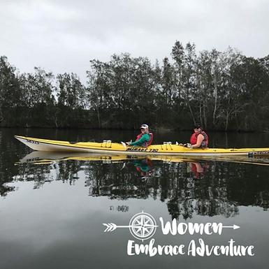 Women Embrace Kayaking Dora Creek