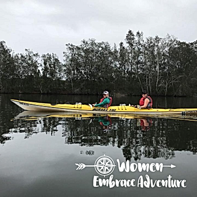 Women Embrace Kayaking Dora Creek