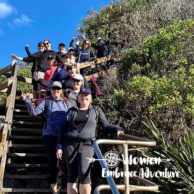 Women Embrace Walk and Lunch Awaba Bay Lake Macquarie