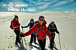 Women Embrace Snowshoeing - Koscuiocko National Park