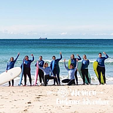 Women Embrace Surfing