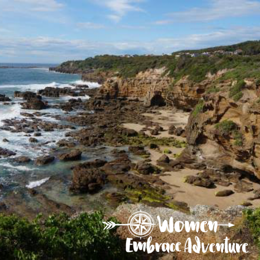 Hiking, Whales and Lunch, Caves Beach NSW  Women Embrace Adventure