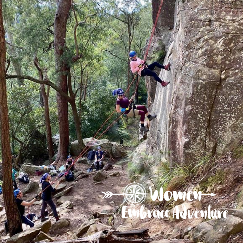 Women Embrace Abseiling Watagan State Forest