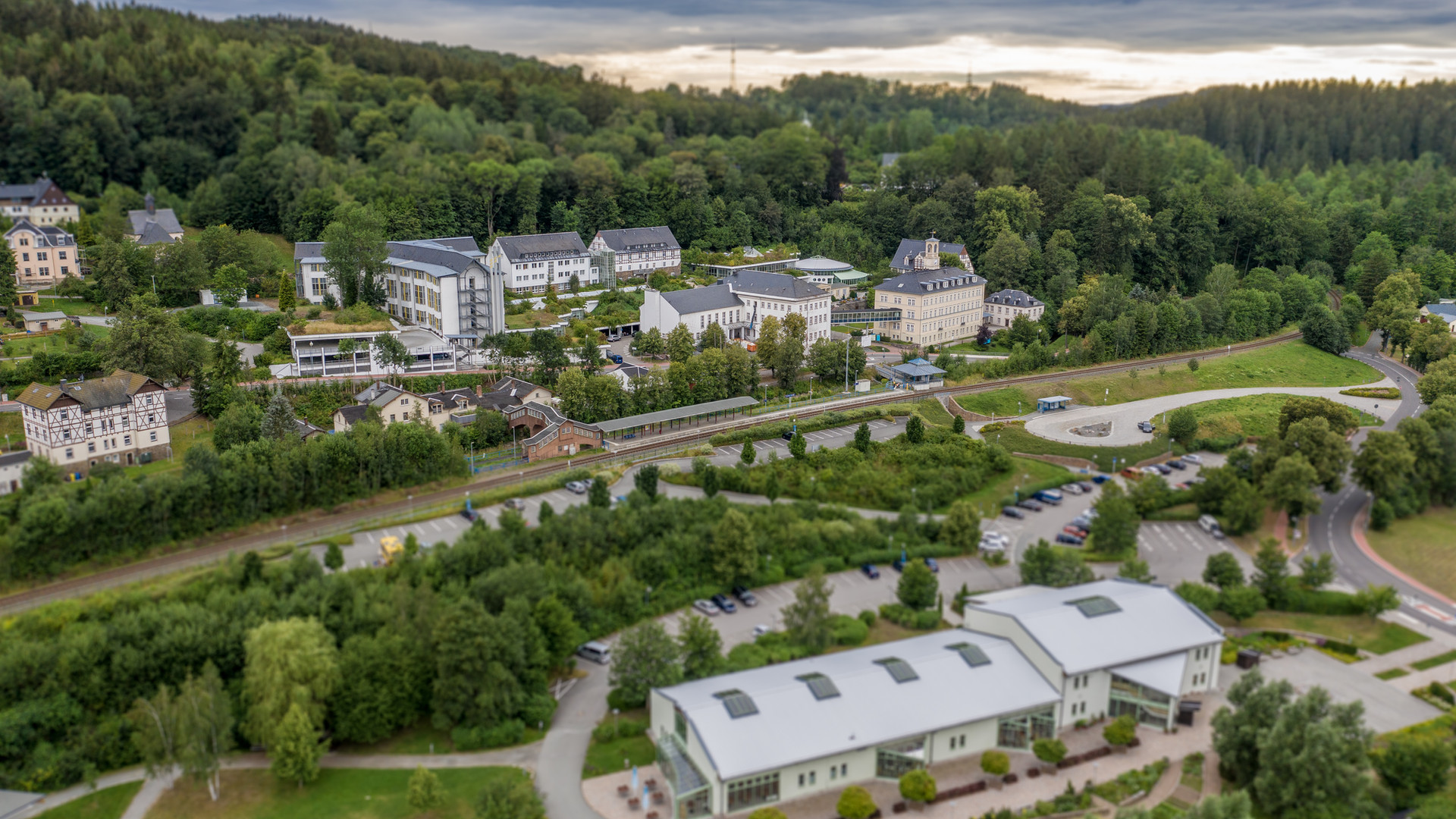 Luftaufnahmen-Thermalbad-Wiesenbad-Minia