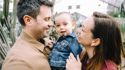 Seances Lifestyle famille photographe documentaire jardin botanique