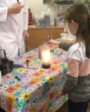 combustion fun with catalysts and oxygen gas