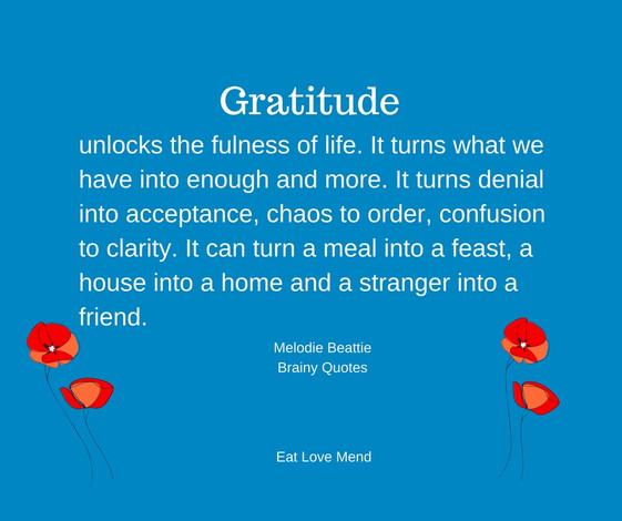 Gratitude, Can it Really Change My Health?